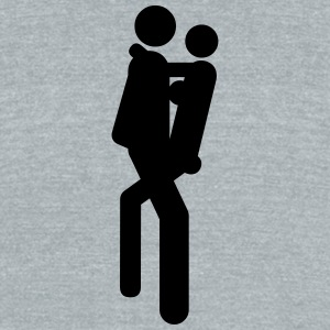 Sex positions - Unisex Tri-Blend T-Shirt by American Apparel