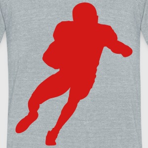 football guy - Unisex Tri-Blend T-Shirt by American Apparel