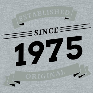 Established since 1975 - Unisex Tri-Blend T-Shirt by American Apparel