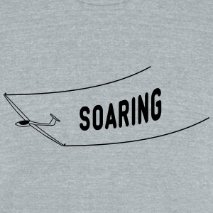 soaring gliding - Unisex Tri-Blend T-Shirt by American Apparel