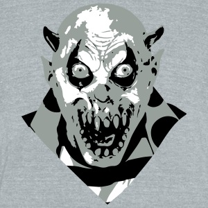 horrorclown - Unisex Tri-Blend T-Shirt by American Apparel