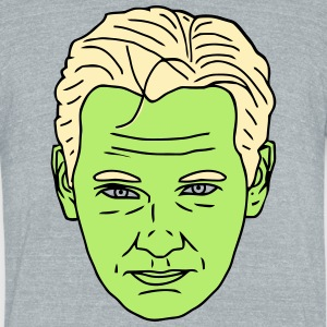 Donald Assange - Unisex Tri-Blend T-Shirt by American Apparel