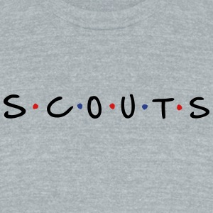 Scouts - Unisex Tri-Blend T-Shirt by American Apparel