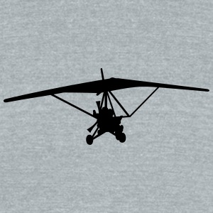 Trike Flying - Unisex Tri-Blend T-Shirt by American Apparel
