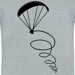 thermik paragliding - Unisex Tri-Blend T-Shirt by American Apparel