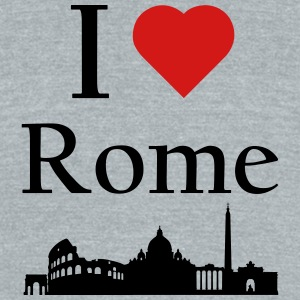Rome - Unisex Tri-Blend T-Shirt by American Apparel