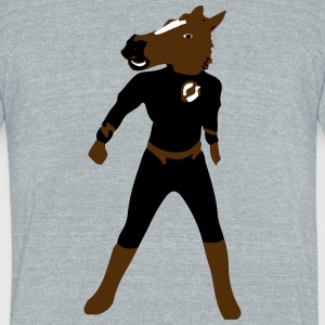 HORSE HERO - Unisex Tri-Blend T-Shirt by American Apparel