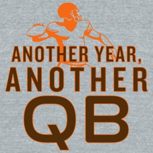 Another Year, Another QB - Unisex Tri-Blend T-Shirt by American Apparel