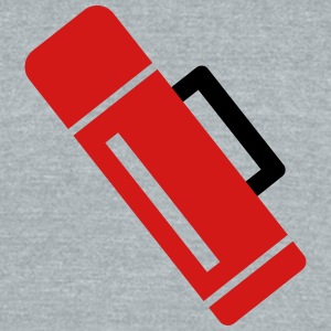 thermos - isolate can - Unisex Tri-Blend T-Shirt by American Apparel