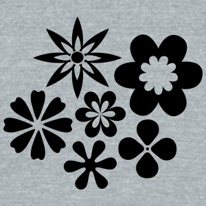 Flower Power - Unisex Tri-Blend T-Shirt by American Apparel