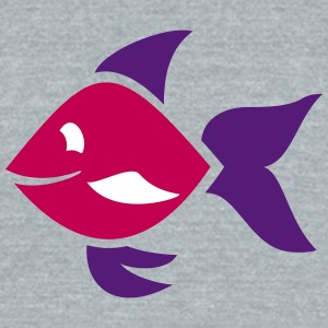 Fish - ornamental fish - aquarium - Unisex Tri-Blend T-Shirt by American Apparel