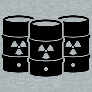 Nuclear waste - say no! - Unisex Tri-Blend T-Shirt by American Apparel