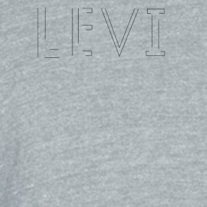 LEVI - Unisex Tri-Blend T-Shirt by American Apparel