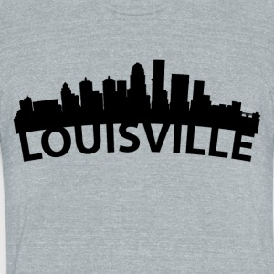 Arc Skyline Of Louisville KY - Unisex Tri-Blend T-Shirt by American Apparel