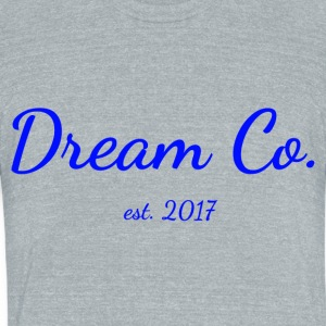 Dream Co. (standard) - Unisex Tri-Blend T-Shirt by American Apparel
