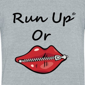 run up by lildachi - Unisex Tri-Blend T-Shirt by American Apparel