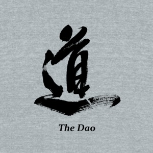 The Dao (Black) - Unisex Tri-Blend T-Shirt by American Apparel
