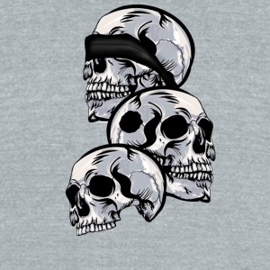 See No Evil, Hear No Evil, Speak No Evil - Unisex Tri-Blend T-Shirt by American Apparel