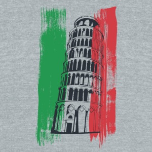 italy - Unisex Tri-Blend T-Shirt by American Apparel