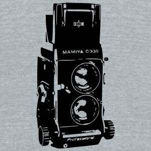 Mamiya C330 Twin Lens Reflex - Unisex Tri-Blend T-Shirt by American Apparel