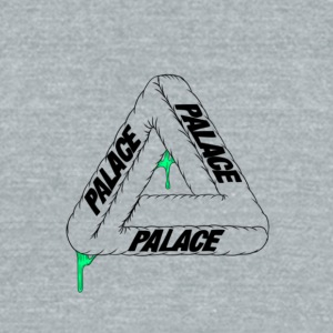 palace - Unisex Tri-Blend T-Shirt by American Apparel