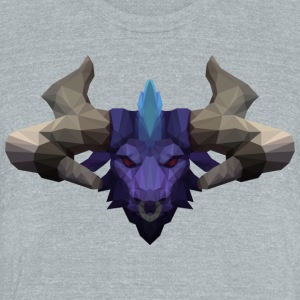 League of Legends Alistar - Unisex Tri-Blend T-Shirt by American Apparel