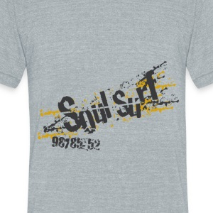 Soul surf - Unisex Tri-Blend T-Shirt by American Apparel