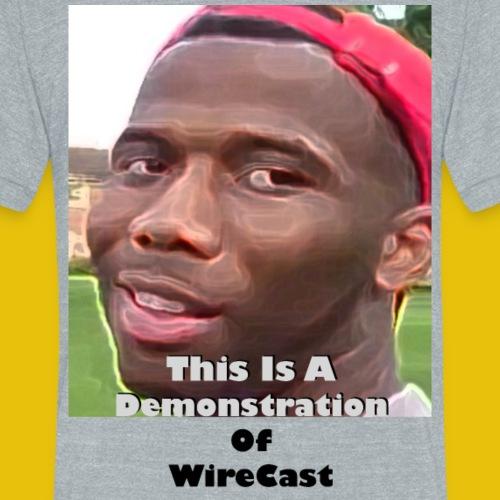 VTW: D-Lo Smith (WireCast) - Unisex Tri-Blend T-Shirt