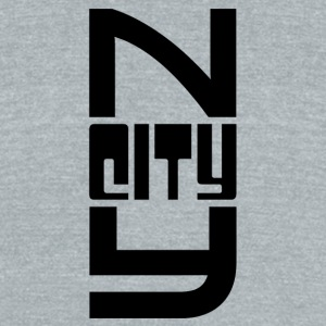 New York City - Unisex Tri-Blend T-Shirt by American Apparel
