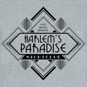Harlem's Paradise - Unisex Tri-Blend T-Shirt by American Apparel