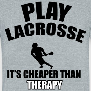 LACROSSE DESIGNs - Unisex Tri-Blend T-Shirt by American Apparel