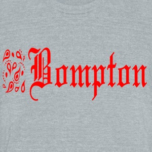 bompton - Unisex Tri-Blend T-Shirt by American Apparel