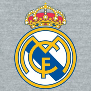Real Madrid Logo - Unisex Tri-Blend T-Shirt by American Apparel