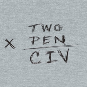 two x pen civ - Unisex Tri-Blend T-Shirt by American Apparel