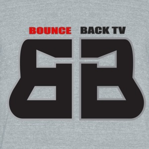 BOUNCE BACK TV - Unisex Tri-Blend T-Shirt by American Apparel