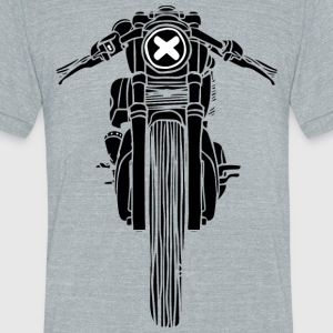 Caferacer - Unisex Tri-Blend T-Shirt by American Apparel