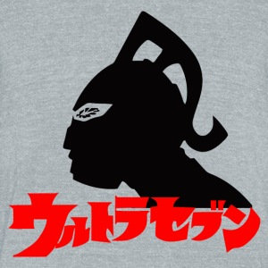 ultraseven - Unisex Tri-Blend T-Shirt by American Apparel