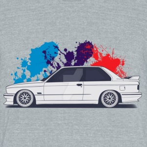 BMW M3 E30 - Unisex Tri-Blend T-Shirt by American Apparel