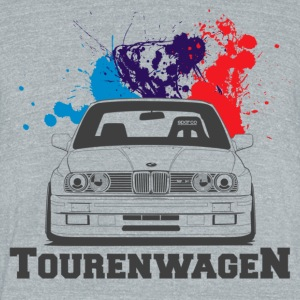 BMW E30 M3 - Unisex Tri-Blend T-Shirt by American Apparel