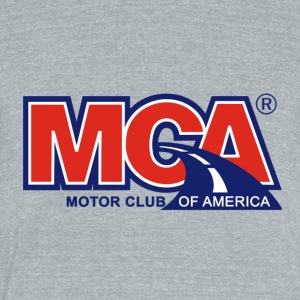 MCA_Logo_WBG - Unisex Tri-Blend T-Shirt by American Apparel