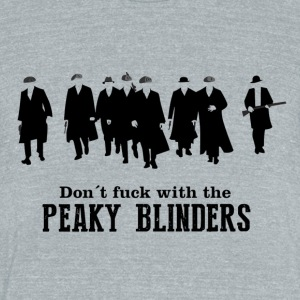 peaky blinders - Unisex Tri-Blend T-Shirt by American Apparel