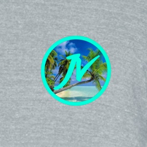 Tropical - Unisex Tri-Blend T-Shirt by American Apparel