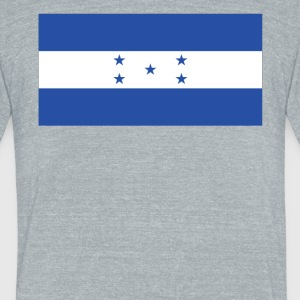 Flag of Honduras Cool Honduran Flag - Unisex Tri-Blend T-Shirt by American Apparel