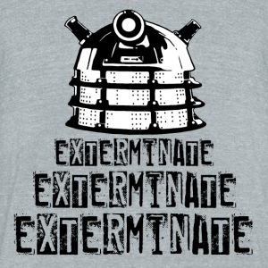Dalek - Unisex Tri-Blend T-Shirt by American Apparel