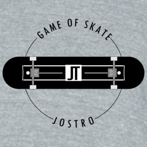 game of skate - Unisex Tri-Blend T-Shirt by American Apparel