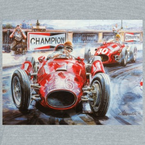 Champion cars - Unisex Tri-Blend T-Shirt by American Apparel