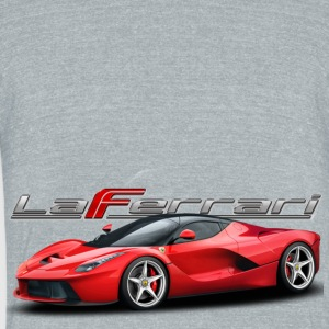 laferrari - Unisex Tri-Blend T-Shirt by American Apparel