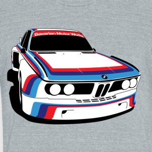BMW M5 E9 - Unisex Tri-Blend T-Shirt by American Apparel