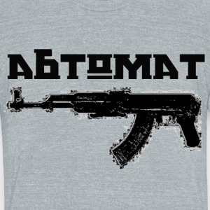 ABTOMAT - Unisex Tri-Blend T-Shirt by American Apparel