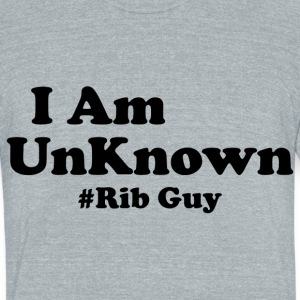 I Am The Rib Guy - Unisex Tri-Blend T-Shirt by American Apparel